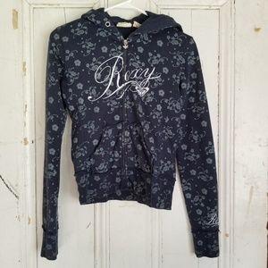 Roxy zip down hoodie sz Small